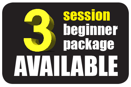 3 session beginner package