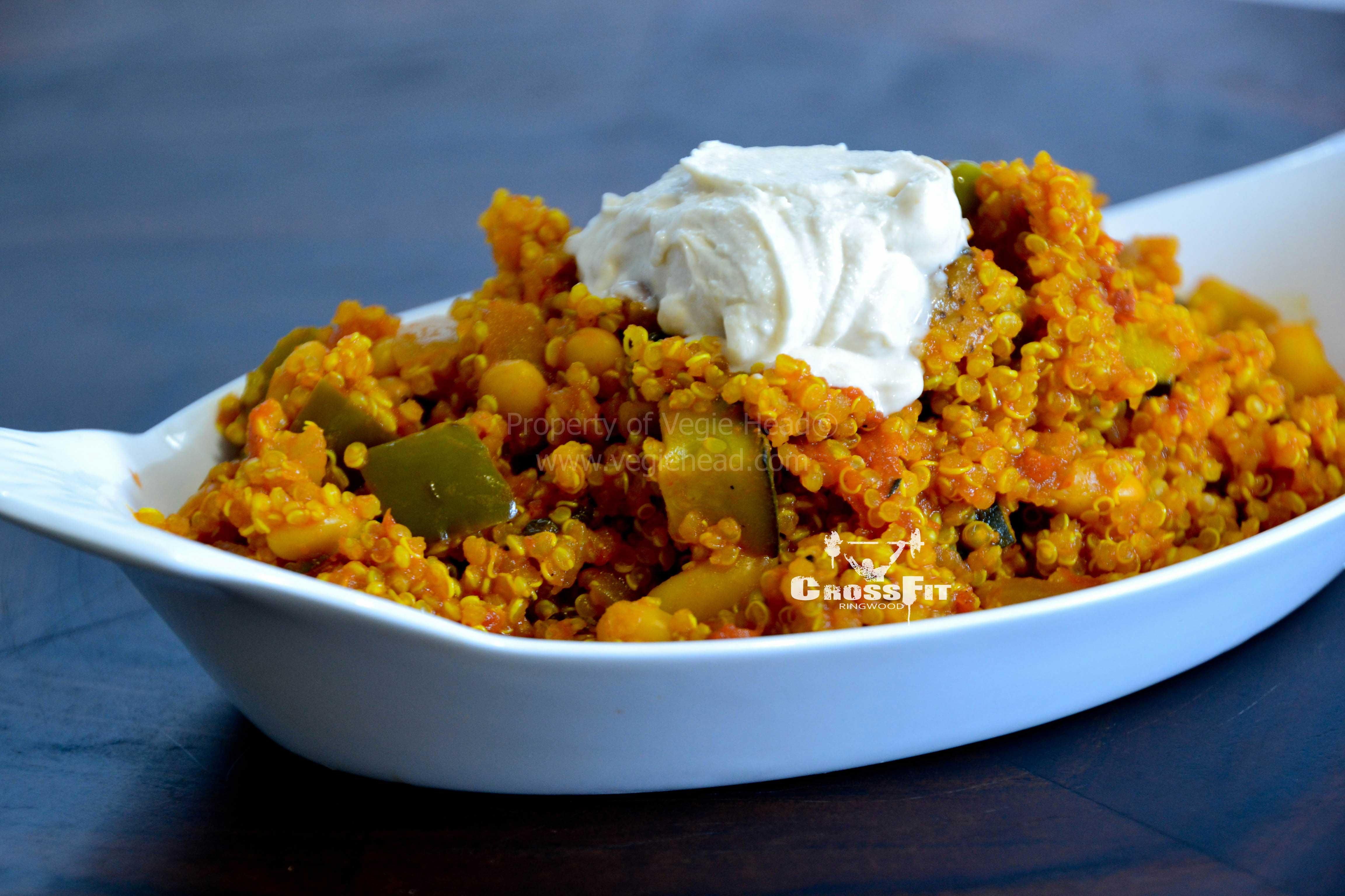 Moroccan Quinoa Pilaf | CrossFit Ringwood