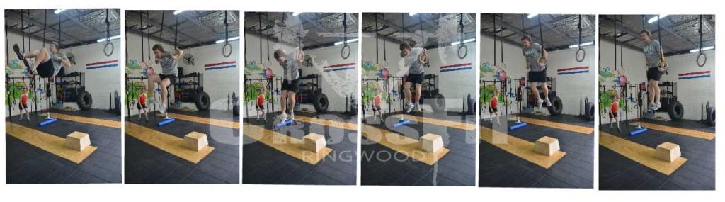 Nathan Muscle ups