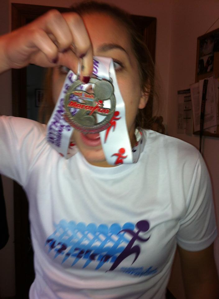 Emily Melbourne Marathon